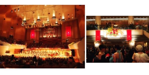 サントリーホール30周年記念ガラ・コンサートへ♪